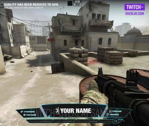 Feature Image für Counterstrike Overlay Icy Blue
