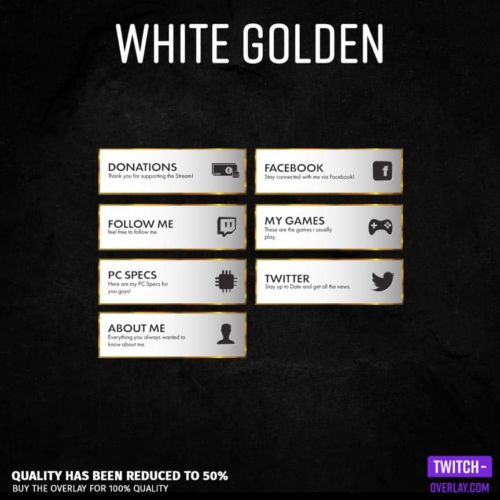 feature image for the white golden stream panels