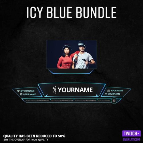 Feature Image for the Icy Blue Streaming Bundle