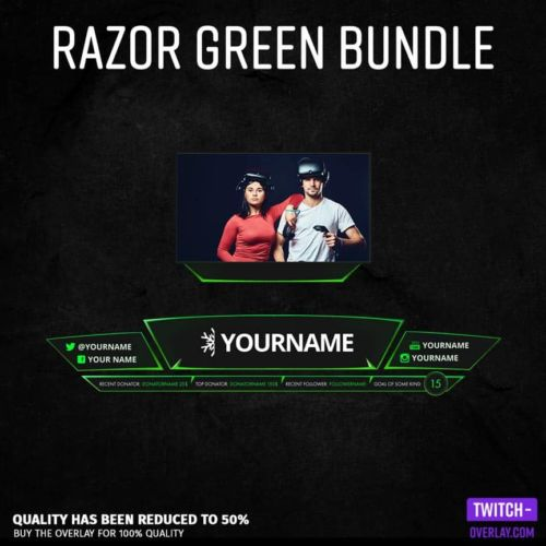 Feature Image für das Razor Green Streaming Bundle