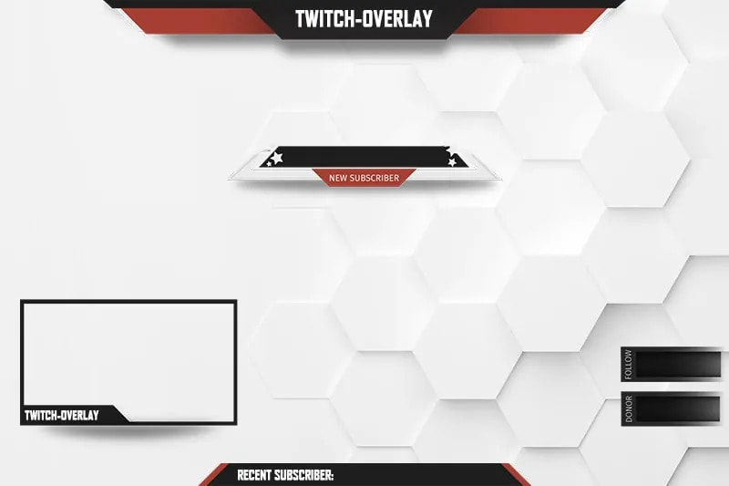 Twitch Overlay Game Overlays, Stream Overlays